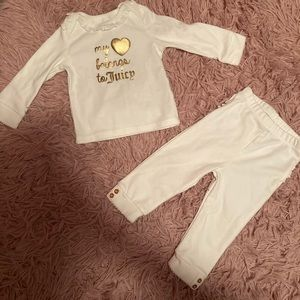 Baby girl Juicy couture outfit